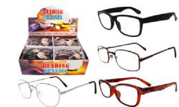 48 of Promo Reading Glasses Assorted Style