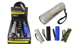 30 Units of Promo LED Metal Flashlight - Flash Lights
