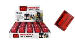 60 Units of Emergency Red LED Flasher - Flash Lights