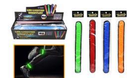 48 Units of Safety LED Slap Band - Flash Lights