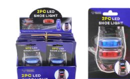 288 Units of Motion Activated LED Shoe Lace Lights 2 Piece - LED Party Supplies