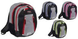 "12 Units of 18"" Jumbo Laptop Organizer Backpacks - Backpacks"