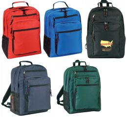 "12 Units of 12-1/2"" Deluxe Backpacks - Backpacks"