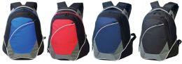"12 Units of 15"" Deluxe Backpacks - Backpacks"
