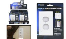 24 Bulk Outlet Plate LED Night Light