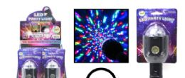 18 Units of Motorized LED Party Light - LED Party Supplies