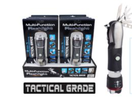16 Units of Multi Function Tactical LED Flashlight 9 In 1 - Flash Lights
