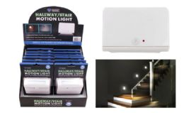 12 Bulk Motion Activated Hallway Stair LED Light