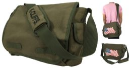 """13.5"""" Laptop Canvas Messenger Bags - Bags Of All Types"""