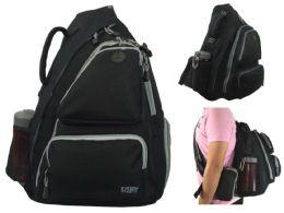 """14 Units of 19"""" Cross Shoulder Sling Backpacks - Backpacks"""