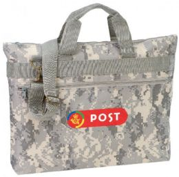 48 Units of Digital Camo Document Bags - Bags Of All Types