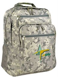 "12 Units of 12-1/2"" Digital Camo Deluxe Backpacks - Backpacks"