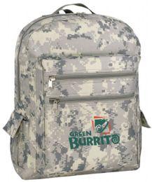 "24 Units of 12"" Camouflage Backpacks - Backpacks"