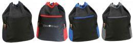 "24 Units of 15"" Drawstring Bags - Backpacks"