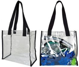 """48 Units of 12"""" Clear Tote Bags - Tote Bags & Slings"""