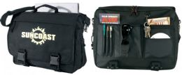 """12 Units of 16"""" Expandable Computer Briefcases - Bags Of All Types"""