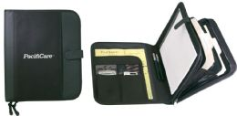 Zippered Padfolio w/ Dividers - Bags Of All Types