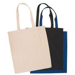 """240 Units of 16"""" Cotton Shopping Tote Bags - Tote Bags & Slings"""