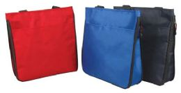 36 Units of Expandable Shopping Tote Bags - Tote Bags & Slings