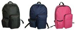 "30 Units of 17"" Backpacks w/ Water Bottle Holder - Backpacks"