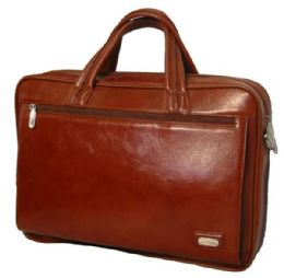 Full Grain Leather Executive Portfolio Briefcase - Bags Of All Types