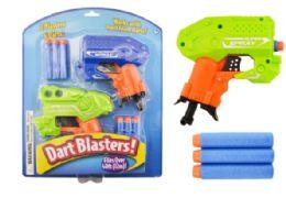 24 of Dart Blaster Guns 2 Pack Imperfect Packaging