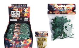 48 Units of Army Figurines 24 Pack - Action Figures & Robots