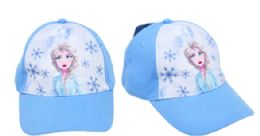 24 Wholesale Baseball Hat Kids Frozen