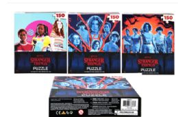 48 Units of Jigsaw Puzzle 150 Pieces Stranger Things - Puzzles
