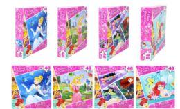 48 Units of Jigsaw Puzzle 48 Piece Disney Princess - Puzzles