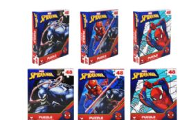 48 Units of Jigsaw Puzzle 48 Piece Spiderman - Puzzles