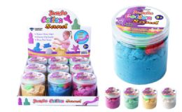 27 Units of Jumbo Magic Sand With Moulds - Slime & Squishees