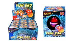 72 Units of Matching Hatching Growing Fish Egg - Animals & Reptiles
