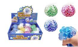 72 Units of Mesh Squish Ball Glitter - Slime & Squishees