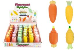 108 Units of Novelty Food Highlighter - Highlighter