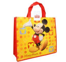36 Bulk Reusable Large Tote Bag Mickey Mouse