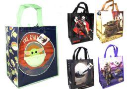 36 Bulk Reusable Large Tote Bag Star Wars Mandalorian