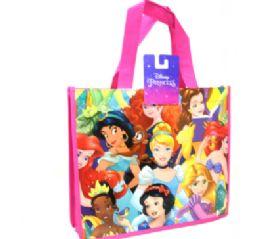 48 Bulk Reusable Medium Tote Bag Disney Princess