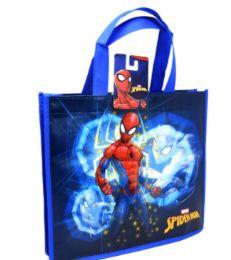 48 Bulk Reusable Medium Tote Bag Spiderman