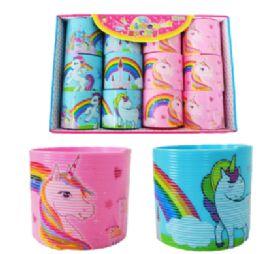 72 Units of Slinky Unicorn - Novelty Toys