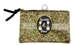 120 Wholesale Sparkle Purse With Earrings 8x5