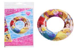 36 Units of Swim Ring Raft Disney Princess - Summer Toys