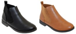 12 Units of Women's Pull-On Ankle Boots w/ Elastic Side - Sizes 6-10 - Women's Boots