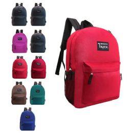 "24 Units of 17"" kids Backpacks-7 Assorted Colors - Backpacks 17"""