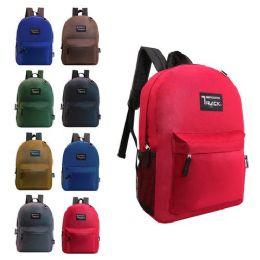 "24 Units of 17"" kids Backpacks- 8 Assorted Colors - Backpacks 17"""