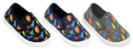 36 of Toddler Slip-On Sneakers - Neon Dinosaur Prints