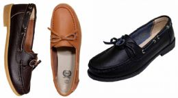 12 Wholesale Women's Genuine Leather Moccasins
