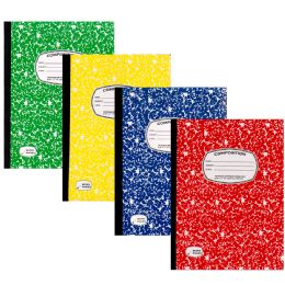 48 Wholesale Composition Notebook 100 Sheets Assorted Colors