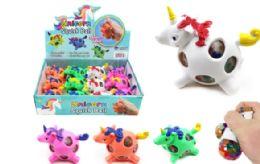 72 Units of Unicorn Squish Ball - Slime & Squishees