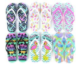 48 Units of Flip Flop Beach - Women's Flip Flops